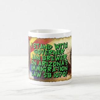 SB 1070 de la ley de Arizona Taza