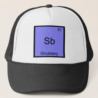 Sb - Shrubbery Funny Chemistry Element Symbol Tee Trucker Hat