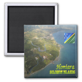 SB - Solomon Islands - Honiara - General View 2 Inch Square Magnet
