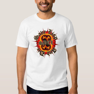 SBCL Inferno Fractal White Tee