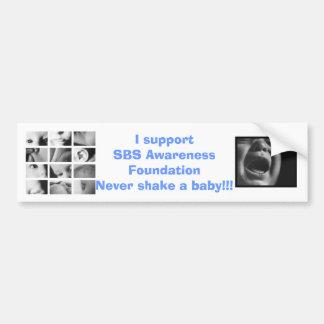 SBS Awareness Foundation bumper sticker Car Bumper Sticker