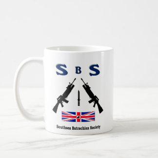 SBS  (SOUTHSEA BATRACHIAN SOCIETY) COFFEE MUG