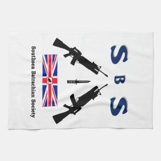 SBS  (SOUTHSEA BATRACHIAN SOCIETY) KITCHEN TOWEL