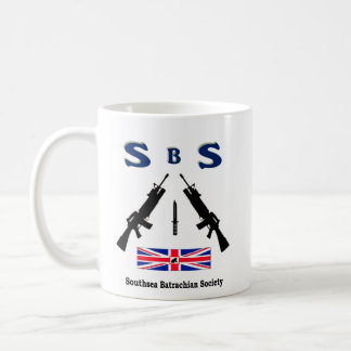 SBS  (SOUTHSEA BATRACHIAN SOCIETY) CLASSIC WHITE COFFEE MUG