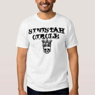 SC Black Ink Skull T Shirt