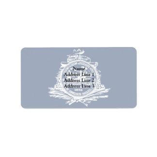 Sc de Charleston, Estados Unidos Etiquetas De Dirección