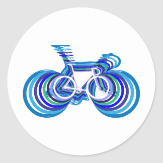 Sc de la bici de la pista pegatinas