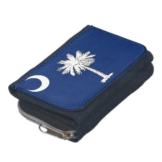 SC Flag Wallet with Coin Purse
