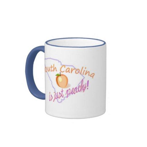 SC is just peachy! Ringer Mug