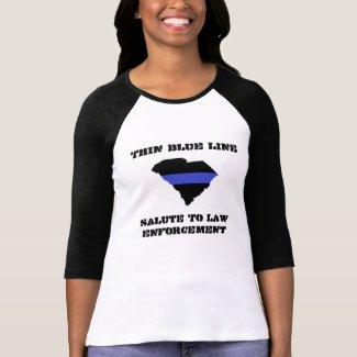 SC LEO Women's Bella 3/4 Sleeve Raglan T-Shirt