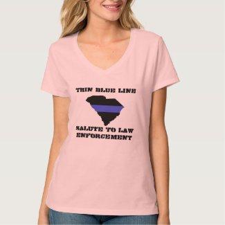 SC LEO Women's Hanes Nano V-Neck T-Shirt