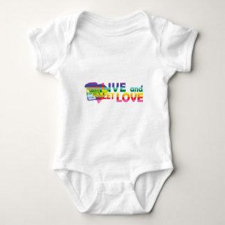 SC Live Let Love Baby Bodysuit