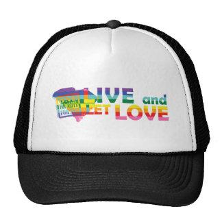SC Live Let Love Trucker Hats
