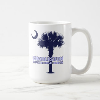 SC Palmetto & Crescent (Charleston) Coffee Mug