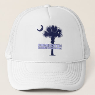 SC Palmetto & Crescent (Charleston) Trucker Hat