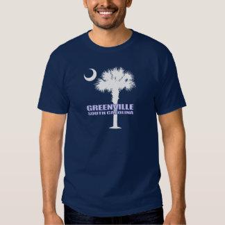 SC Palmetto & Crescent (Greenville) T-shirt