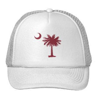 SC Palmetto & Crescent Mesh Hats