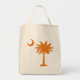 SC Palmetto & Crescent (O) Tote Bag