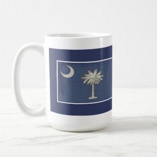 SC Palmetto Flag Mug