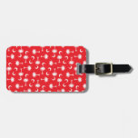 SC Palmetto Moon Red Bag Tags