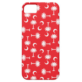 SC Palmetto Moon Red iPhone 5 Case
