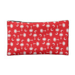 SC Palmetto Moon Red Cosmetic Bag