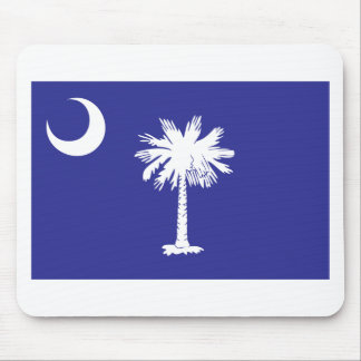 SC Palmetto Moon State Flag Mouse Pad