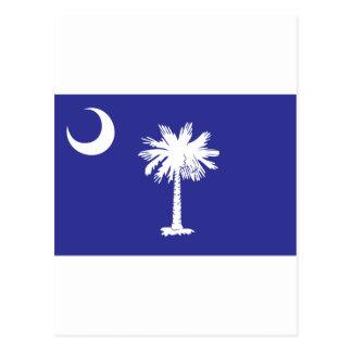 SC Palmetto Moon State Flag Postcard