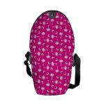 SC Palmetto Moon Y Bright Pink Courier Bag
