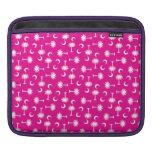 SC Palmetto Moon Y Bright Pink iPad Sleeves