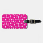 SC Palmetto Moon Y Bright Pink Tags For Bags