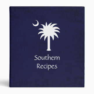 SC Palmetto Southern Recipes Binder