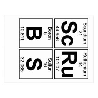 Sc-Ru-B-S (scrubs) - Full Postcard