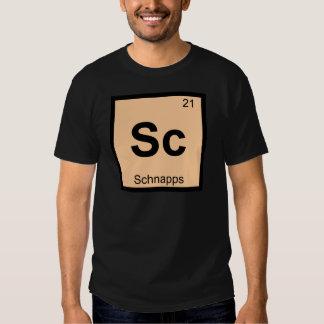 Sc - Schnapps Chemistry Periodic Table Symbol Shirt