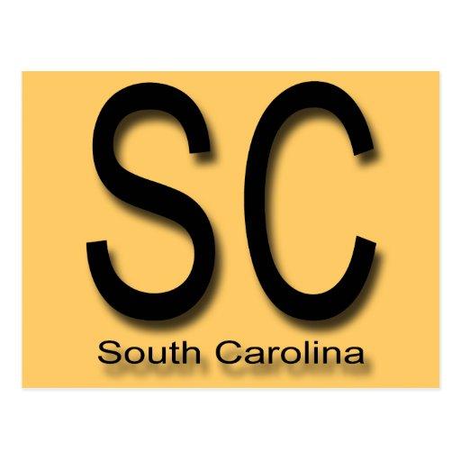 SC South Carolina black Postcard