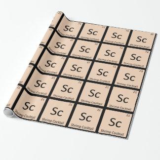 Sc - Tabla periódica de la química del cóctel de c