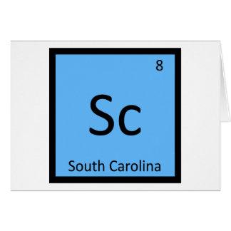 Sc - Tabla periódica de la química del estado de C Felicitaciones
