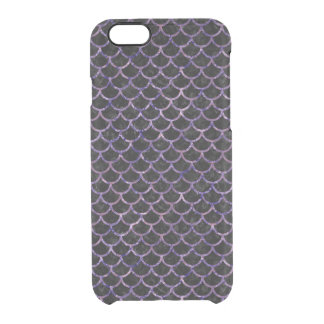 SCA1 BK-PR MARBLE CLEAR iPhone 6/6S CASE