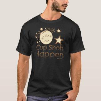 SCA Cup Shots Happen Brown T-Shirt