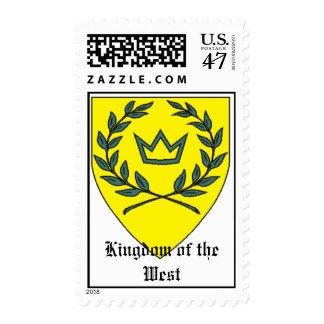 SCA Kingdom of the West Postage