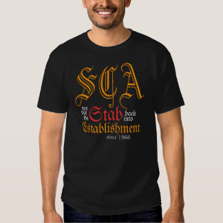 SCA We put the Stab back into Establishment tee