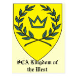 SCA West Postcards
