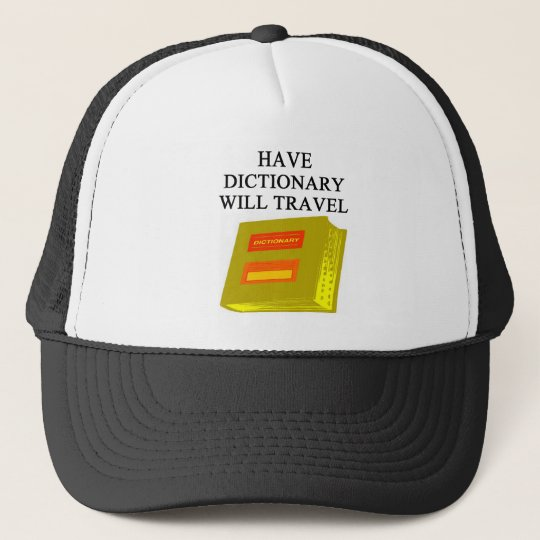 scabble and word game player design trucker hat