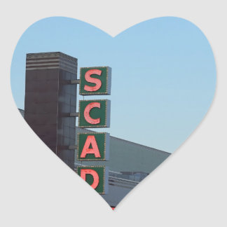 SCAD HEART STICKER