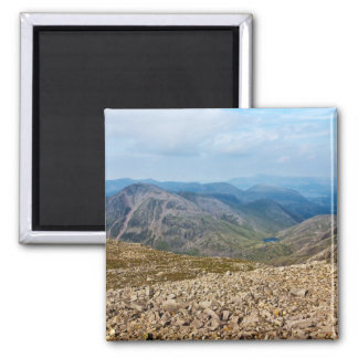 Scafell Pike, England 2 Inch Square Magnet