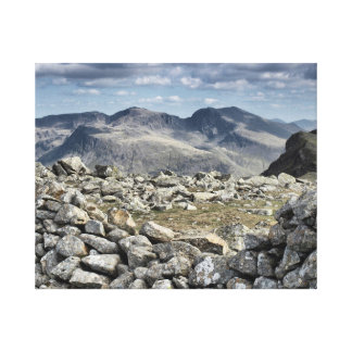 Scafell Pike, Lake District National Park Canvas Print