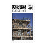 Scaffolding Postage Stamp