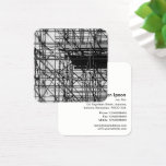Scaffolding Square Business Card