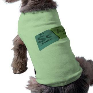 Scag como escandio del Sc y plata del AG Camisa De Perro