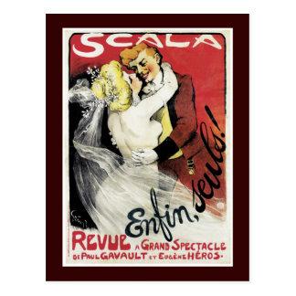 Scala ~ Enfin, Seuls! Postcard